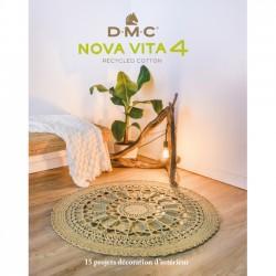 DMC - Livre Nova Vita Recycled Cotton : 15 projets décoration d'intérieur