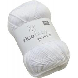 Rico Design : Baby Cotton Soft DK blanc neige