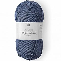 Rico Design : Creative silky touch dk vegan coloris Bleu Marine