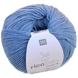 Rico Design - Laine Baby Classic DK - Coloris BLEU GLACE