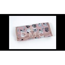 DMC  :  Trousse 5 crochets en aluminium coloris rose
