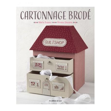 Les Editions de Saxe - Cartonnage brodé